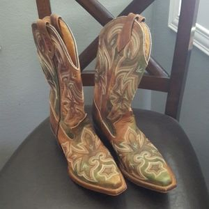 Rocky Western Leather Boots